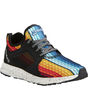 Ariat Women's Fuse Rainbow Stripe Mesh Shoes , Multi, hi-res