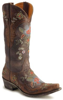 Old Gringo Ultra Vintage Bonnie Cowgirl Boots - Snip Toe, , hi-res