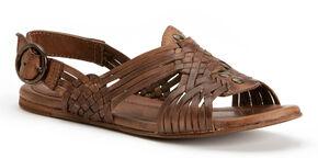 Frye Women's Jacey Huarache Shoes, Dark Brown, hi-res
