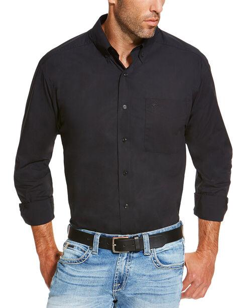 Ariat Men's Black Alden Shirt, Black, hi-res