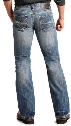 """Rock and Roll Cowboy Pistol """"V"""" Regular Fit Jeans - Boot Cut  , , hi-res"""