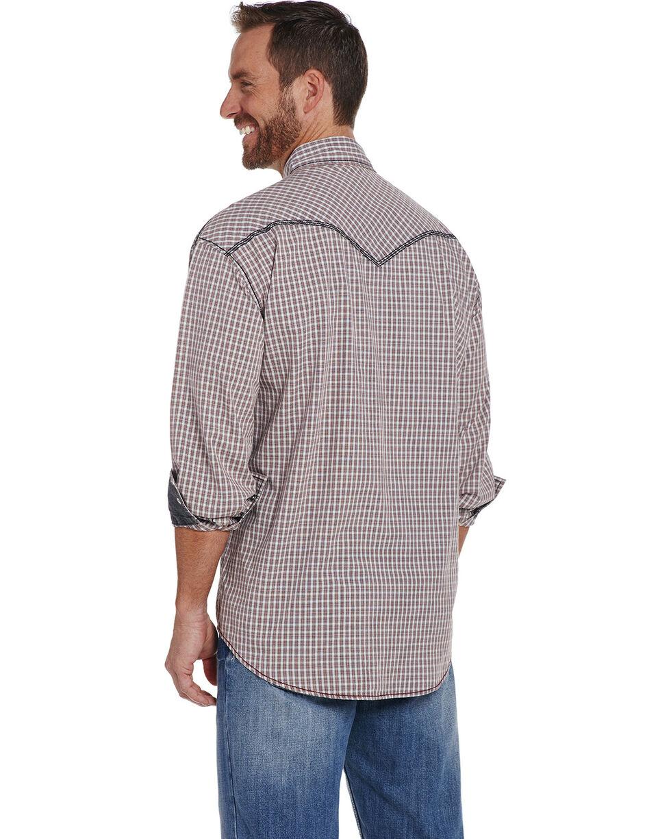 Cowboy Up Men's Two Pocket Snap Shirt , Red, hi-res