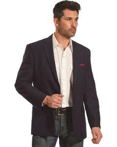 Circle S Platinum Men's Midnight Western Sport Coat, Navy, hi-res