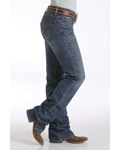 Cinch Women's Indigo Kylie Slim Fit Jeans - Boot Cut , Indigo, hi-res