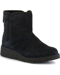 UGG Women's Black Kristin Boots - Round Toe, Black, hi-res