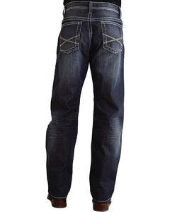 "Stetson 1520 Fit Bold ""X"" Stitched Jeans - Big & Tall, , hi-res"