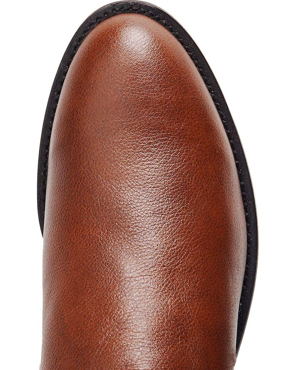 Justin Classic Roper Cowboy Boots - Round Toe, Tan, hi-res