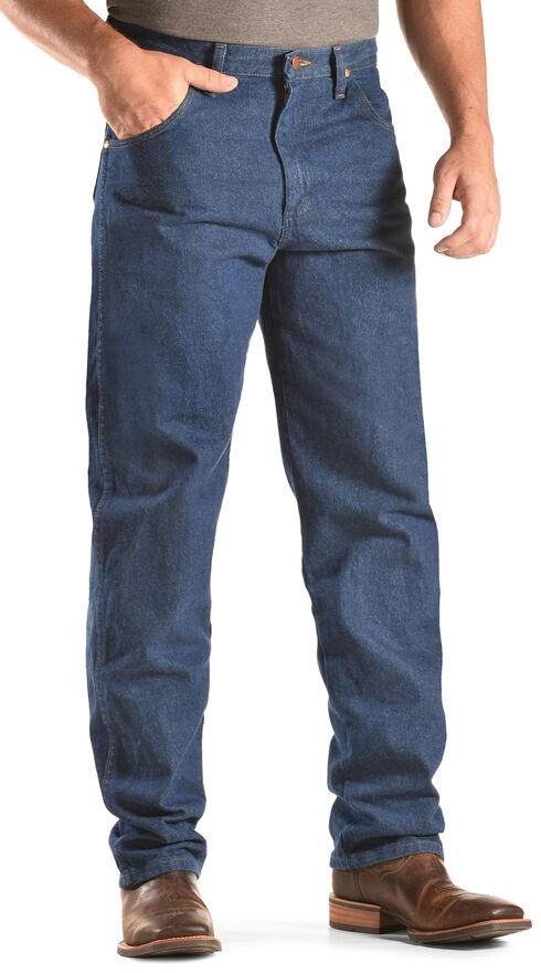 Wrangler Jeans - 31MWZ Relaxed Fit Prewashed Denim, Indigo, hi-res