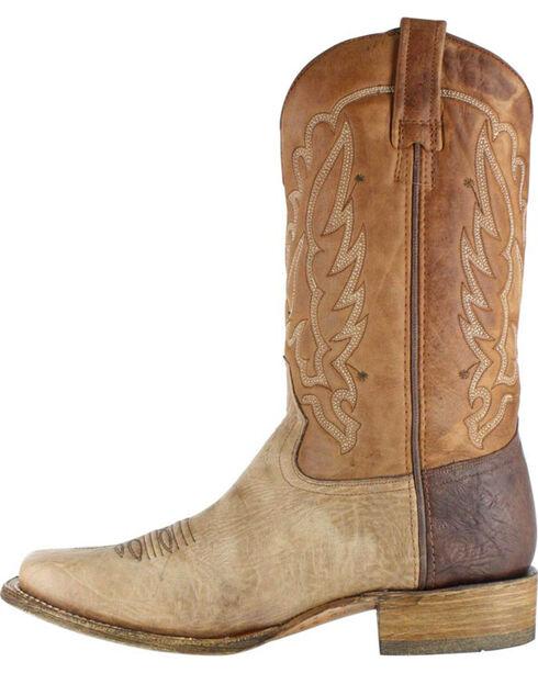 Corral Men's Shoulder Western Boots - Square Toe , Brown, hi-res