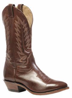 Boulet Ranch Hand Tan Boots - Medium Toe, , hi-res