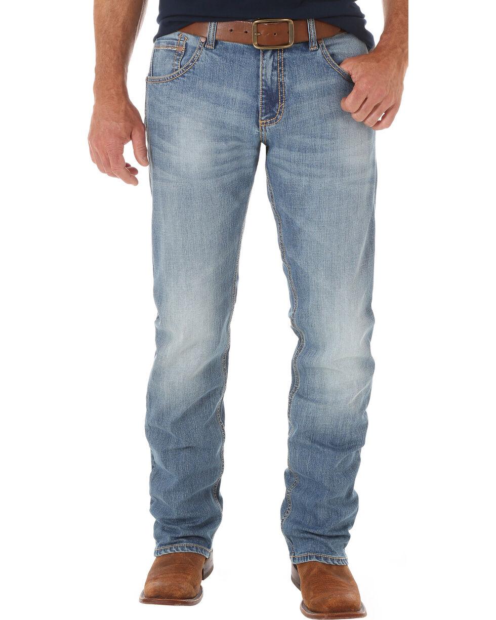 Wrangler Retro Men's Slim Fit Straight Leg Jeans - Big and Tall, Indigo, hi-res