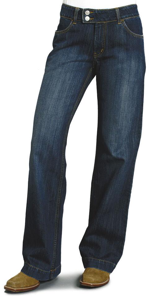 """Stetson Women's 214 Fit City Trouser Jeans - 33"""" Long, Denim, hi-res"""