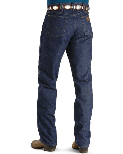 """Wrangler Jeans - 47MWZ Original Fit Prewashed Indigo - 44"""" to 50"""" Waist, Indigo, hi-res"""
