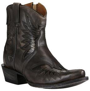 Ariat Women's Naturally Charcoal Santos Boots - Snip Toe, Charcoal Grey, hi-res