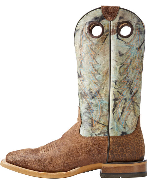 Ariat Men's Sand Branding Pen Scratched Western Boots - Square Toe , Sand, hi-res