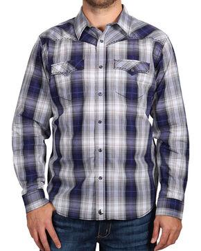 Cody James Men's Badlander Long Sleeve Shirt - Big & Tall, Purple, hi-res