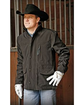 STS Ranchwear Men's Brazos Black Jacket - Big & Tall - 2XL-3XL, Black, hi-res