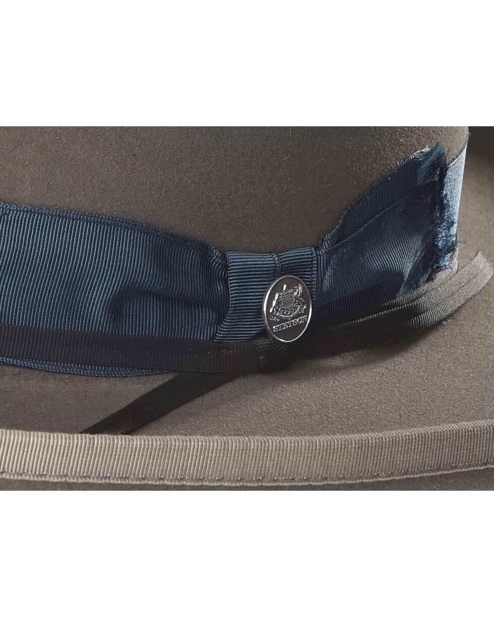 Stetson Men's West Bound B Limited Edition Fur Felt Hat , Grey, hi-res