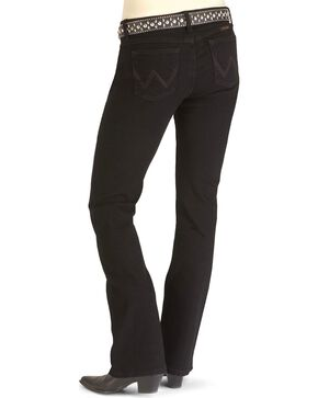 Wrangler Women's Black Magic Ultimate Riding Q-Baby Jeans, Blk Magic, hi-res