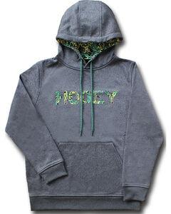 Hooey Men's Grey Ziggy Camo Hoodie , Grey, hi-res