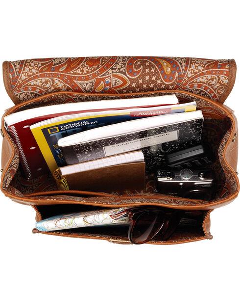 Bandana by American West Golden Tan Oak Creek Backpack , Golden Tan, hi-res