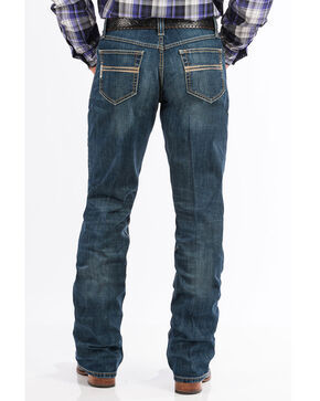 Cinch Men's Dark Stone Boot Cut Jeans, Indigo, hi-res