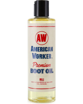 American Worker Premium Boot Oil, Tan, hi-res
