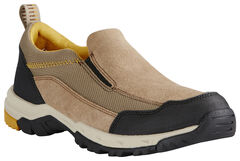Ariat Men's Tan Skyline Slip-On Shoes, Tan, hi-res