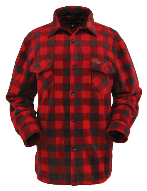 Outback Trading Company Men's Big Shirt, Red, hi-res