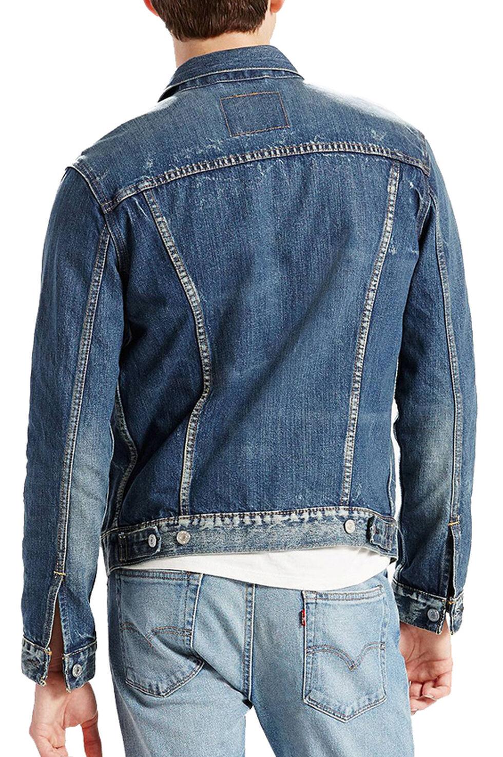 Levi's Men's Denim Trucker Jacket, Denim, hi-res