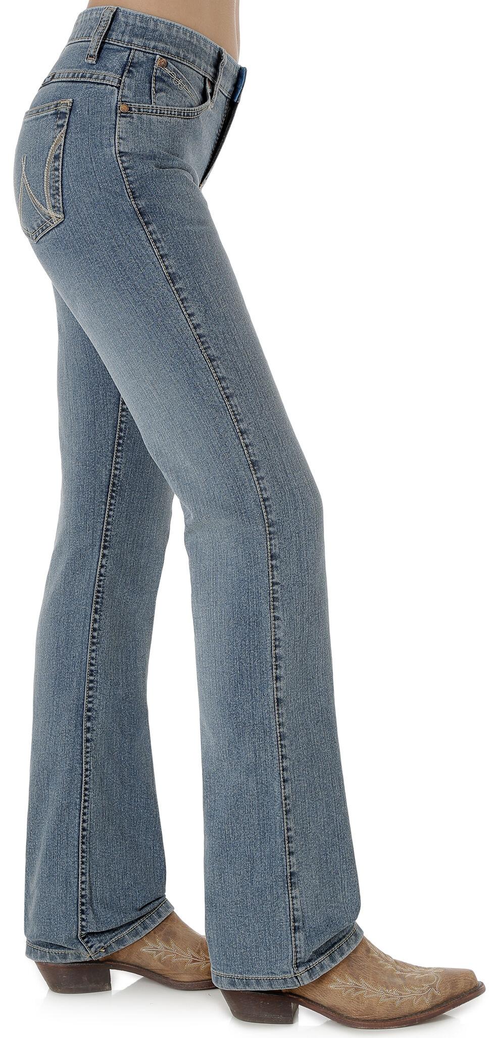 Wrangler Women's Cool Vantage Ultimate Riding Q-Baby Jeans, Indigo, hi-res
