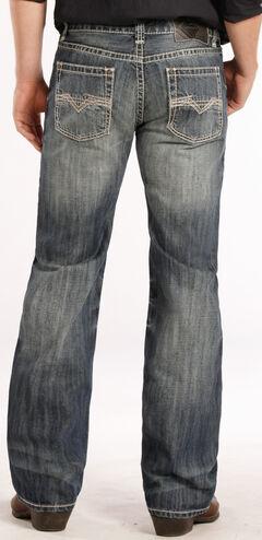 Rock and Roll Cowboy Pistol Fit Flat Seam Jeans - Straight Leg , , hi-res