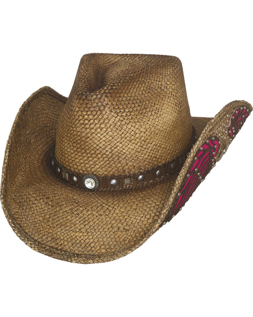 Bullhide Western Inspiration Straw Cowboy Hat, Natural, hi-res