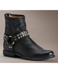 Frye Women's Phillip Studded Harness Boots, , hi-res