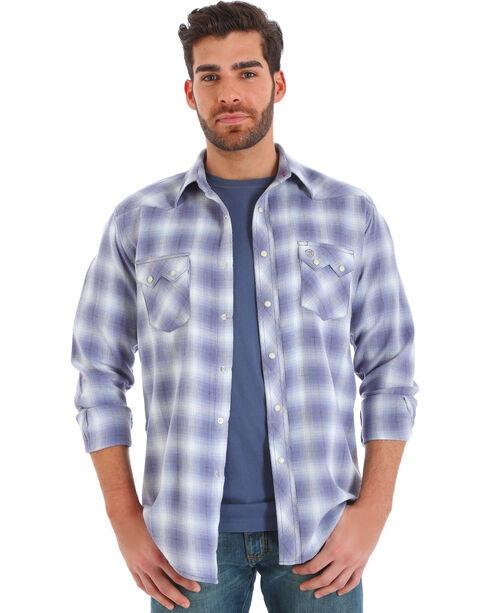 Wrangler Men's Assortment Flannel Long Sleeve Shirts , Multi, hi-res