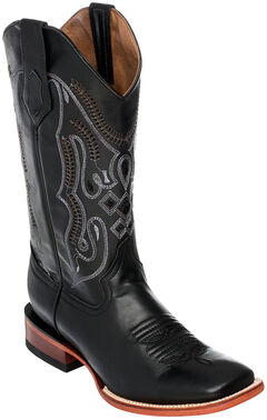 Ferrini Cowhide Leather Cowboy Boots - Square Toe, , hi-res