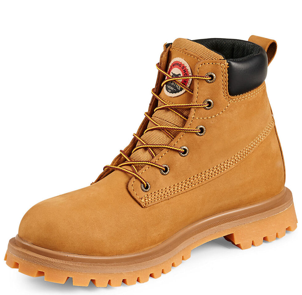 """Irish Setter by Red Wing Shoes Men's Hopkins EH Insulated Waterproof 6"""" Work Boots - Aluminum Toe , Wheat, hi-res"""