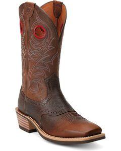 Ariat Heritage Rough Stock Cowboy Boots - Square Toe, , hi-res