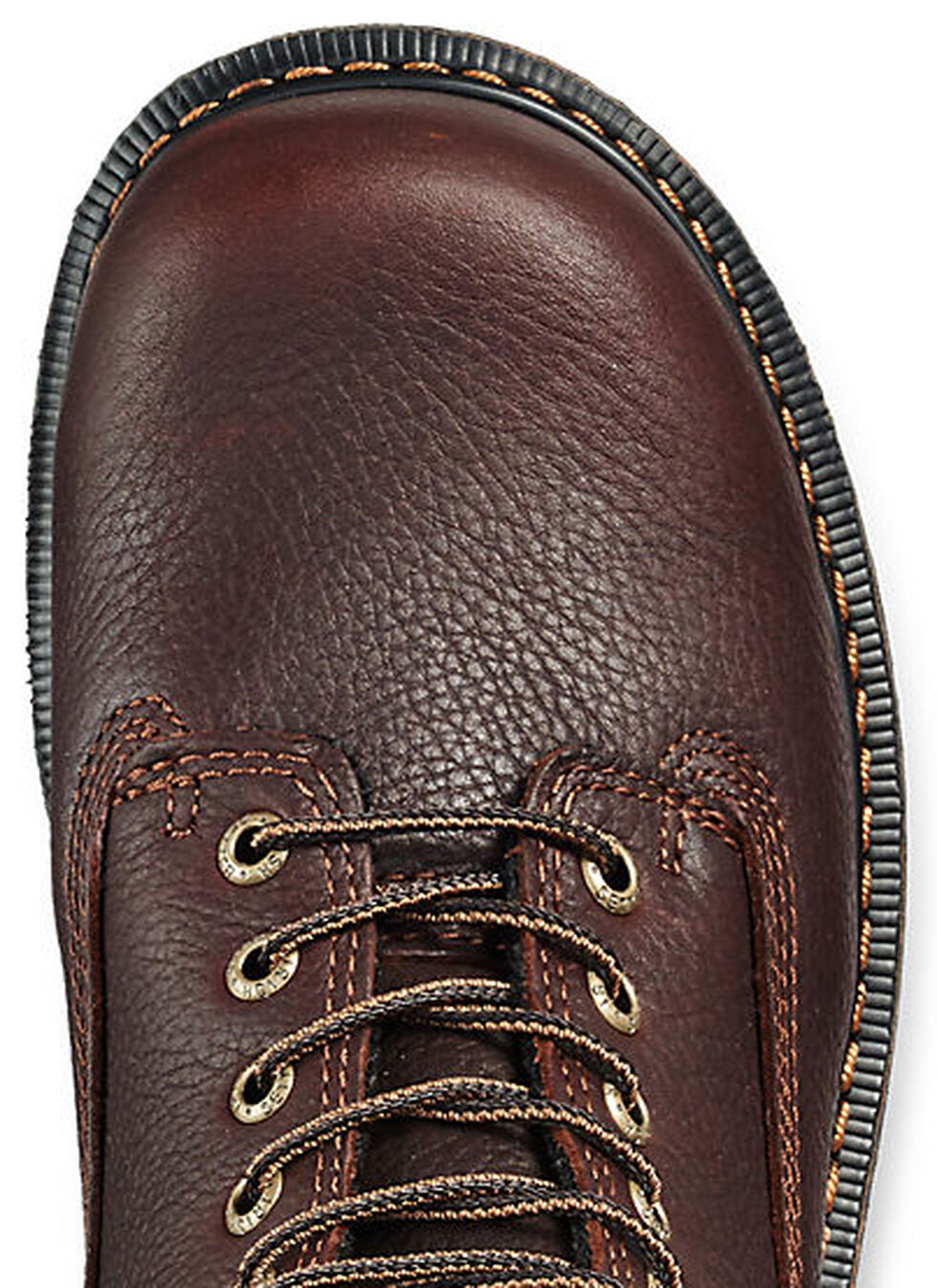 """Irish Setter by Red Wing Shoes Men's 8"""" Farmington Lace-Up Work Boots- Steel Toe , Brown, hi-res"""