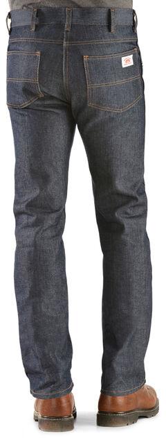 Round House Slim Fit Five Pocket Jeans, Denim, hi-res