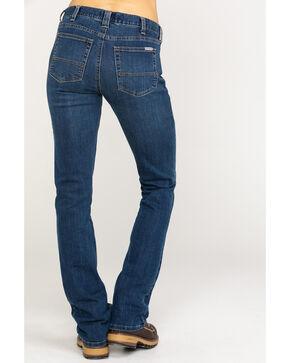 Carhartt Women's Slim Fit Layton Jeans - Boot Cut, Indigo, hi-res