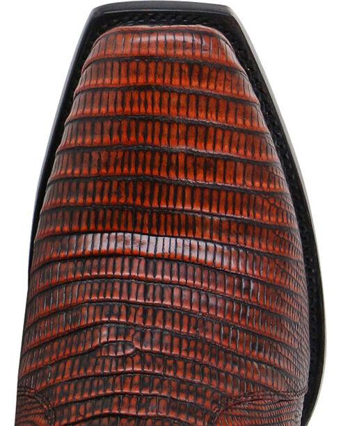 Moonshine Spirit Men's Louisiana Lizard Exotic Boots - Square Toe, Brown, hi-res