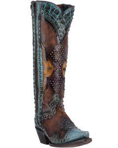 Dan Post Women's Brown Natasha Boots - Snip Toe, , hi-res