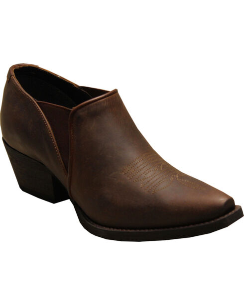 Rawhide by Abilene Women's Shoe Boots - Snip Toe, Brown, hi-res