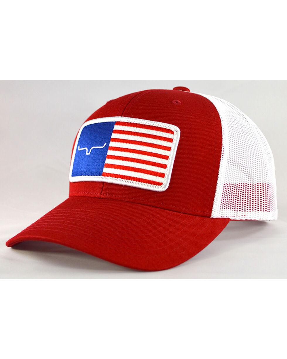 Kimes Ranch Men's Navy American Trucker Baseball Cap , , hi-res