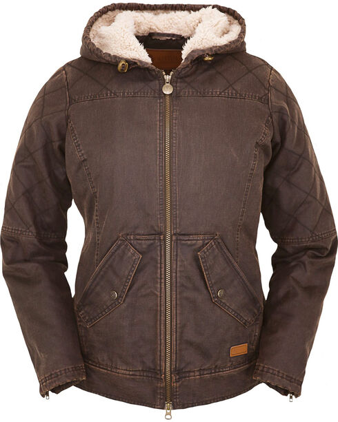 Outback Trading Co. Women's Brown Heidi Canyonland Jacket , Brown, hi-res