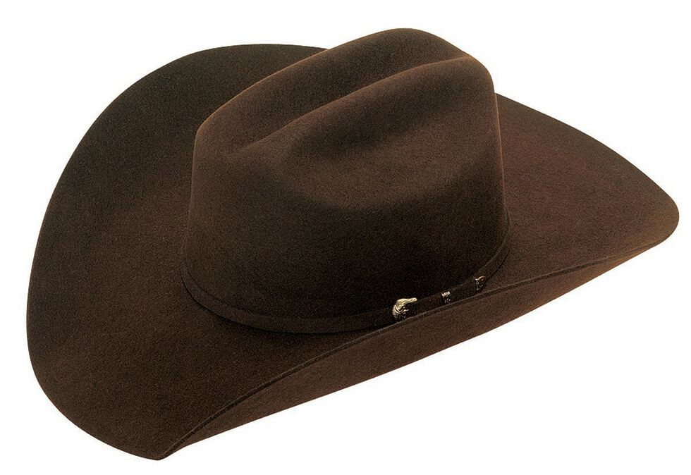 Twister Santa Fe 2X Select Wool Cowboy Hat, Chocolate, hi-res