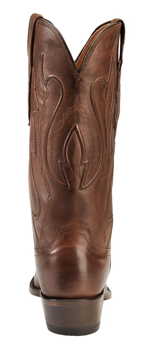 Lucchese Handcrafted 1883 Ranch Hand Cowboy Boots -  Round Toe, Tan Burnish, hi-res