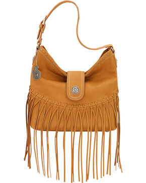 Bandana by American West Tan Rio Rancho Hobo Shoulder Bag , Tan, hi-res