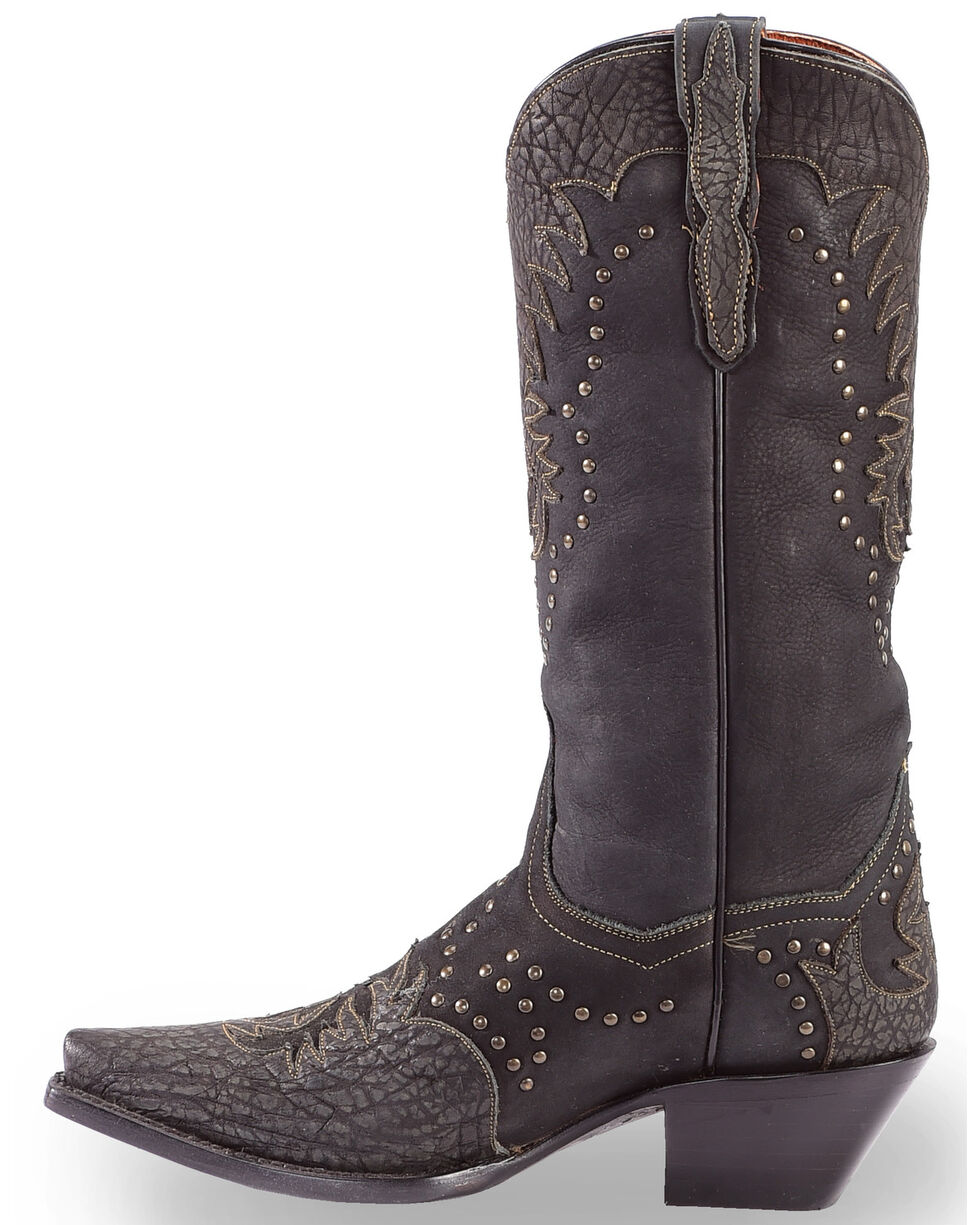 Dan Post Women's Invy Black Cowgirl Boots - Snip Toe, Black, hi-res